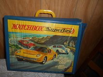 Vintage 1970s Matchbox Car Carrying Case + 50 Diecast Matchbox Vehicles! in Bellaire, Texas