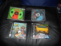 (4)  SONY PlayStation PS1 Games: 'FROGGER, CRASH WARPED, TARZAN, NEED FOR SPEED III' in Kingwood, Texas