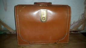 Vintage Leather Document Case in Vacaville, California