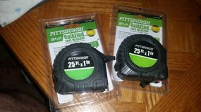 Unused 25ft Tape Measure  $5 for both in Fairfield, California