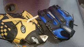 Kid's Baseball gloves and cleats in Travis AFB, California