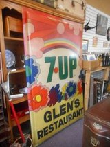 Vintage 7UP Sign in Batavia, Illinois