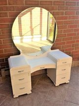 Vintage Girl's Art Deco Makeup Vanity in St. Charles, Illinois