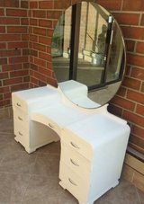 Vintage Girl's Art Deco Makeup Vanity in Sugar Grove, Illinois