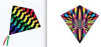 """New! Set of 2 Kite Kits - Color Max 25""""Wide Nylon in Westmont, Illinois"""