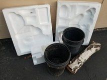 Free plant containers,birch log and miscellaneous Styrofoam pieces in Temecula, California