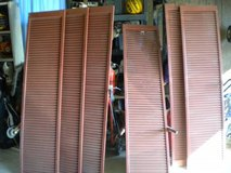Large Wood Shutters (6) and Vinyl (4) in Pensacola, Florida