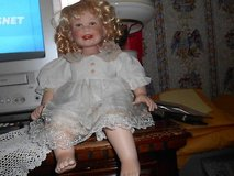 "17""  Blonde Hair Blue Eyed Porcelain Doll w/ cute Smile. Teeth and Tongue showing.  So adorable!... in Kingwood, Texas"