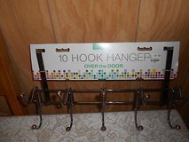 New 10 Hook Clothes or Hat Hanger that fits on Doors! in Bellaire, Texas