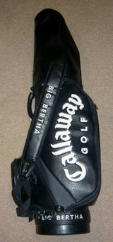 Callaway Big Bertha Golf Bag - 6-Way Staff Bag w/Hood in Schaumburg, Illinois