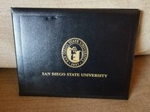 SDSU diploma new holder in Oceanside, California