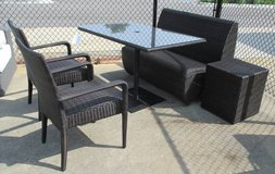 Outdoor 5 Piece Wicker-look Set- Merchandise Mart Sample in Schaumburg, Illinois