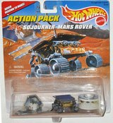 NEW Vintage 1996 Hot Wheels Action Pack JPL Sojourner Mars Rover Mission Pathfinder & Lander in Chicago, Illinois