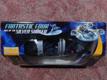 HASBRO MARVEL FANTASTICAR 4 RISE OF THE SILVER SURFER 3 in 1 VEHICLE in Travis AFB, California