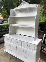 ~Stanley White Dresser with Hutch~ in Wheaton, Illinois