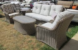 """Wicker""Outdoor Sofa, 2 Chairs, Cocktail & Side Table in Schaumburg, Illinois"