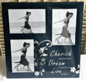 "Cherish Yesterday Dream Tomorrow Live Today Glass Picture Frame 12"" x 12"" in Chicago, Illinois"