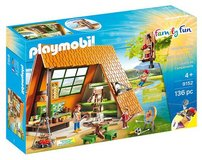 New! Playmobil Camping Lodge 9152 - 136 piece Playset in Lockport, Illinois