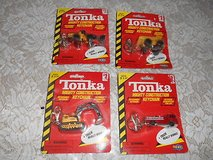 1998 TONKA Mighty Construction Vehicles w/ Detachable Keychain - Set of 4 in Bellaire, Texas