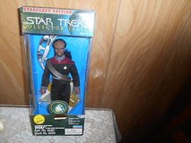 Star Trek Collector Series Star Fleet Edition- WORF Poseable Figure! in Bellaire, Texas