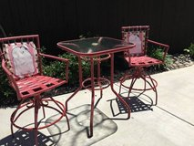 Vintage  3-Pc Pub Height Patio Bistro Set in Travis AFB, California