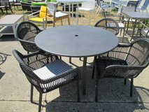 SALE Merchandise Mart Floor Sample - Outdoor round table with 4 chairs in Schaumburg, Illinois