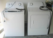 Amana Washer and Electric Dryer in Lockport, Illinois