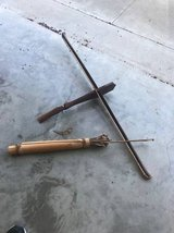 Old Home Made Crossbow and Arrows in Kingwood, Texas
