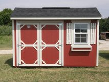 8x12 Garden Shed in Brenham, Texas