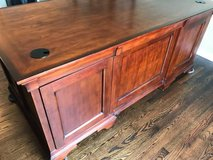 Large executive solid wood desk in Naperville, Illinois