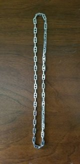 "stainless steel heavy silver link chain 24"" in Naperville, Illinois"