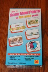 How To Score More Points On Nintendo Games VHS Kodak Video 1989 in Kingwood, Texas