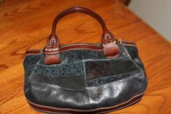 Black and Brown Fossil Purse in Spring, Texas