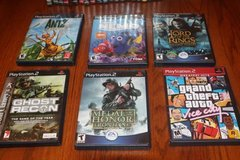 Choice of Twenty Six (26) PS2 Games Complete $6.00 Each - $6 in Spring, Texas