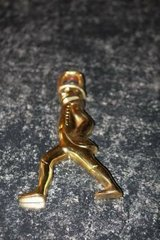 Vintage Brass Hessian Soldier by Virginia Metalcrafters in Spring, Texas