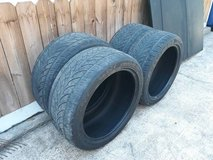 Set of 4 Venezia Crusade SUV 275/40r20 Tires - Used in The Woodlands, Texas