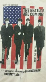 """The Beatles are Coming"" new t-shirt in Camp Pendleton, California"