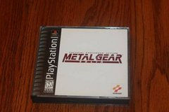 PS1 Metal Gear Black Label Complete in Spring, Texas