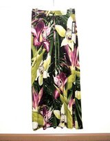 NEW w Tags  $40 Worthington Multi Wild Orchids Long Skirt PS Petite Small Stretch in Chicago, Illinois