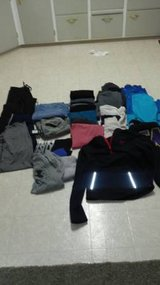 Lot of mens/teens clothing in Fort Lewis, Washington