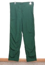 NEW Dilly Uniform Green Scrub Pants Unisex XS Measures 33 x 30 Xsmall Mens Women in Joliet, Illinois