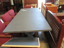 Long Dining or Conference Table by Brownstone Furniture in Elgin, Illinois