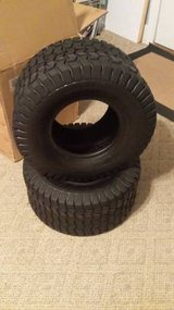 Riding mower rear tires 18 X 8.5 X 8 *** TIRE CHANGING AVAILABLE*** in Warner Robins, Georgia