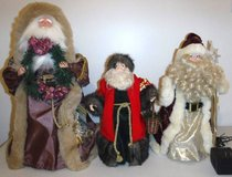 Father Christmas Tree Topper ~ Santa Claus - Choose from 3 in Lockport, Illinois