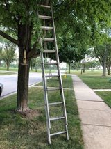 Extension ladder in Chicago, Illinois