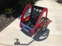 Schwinn Double Seat Bike Trailer in Vacaville, California
