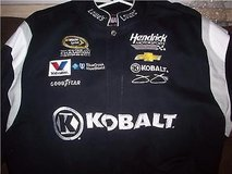 nascar lowes kobalt #48 jimmy johnson 6x champion jacket size 3x black in Temecula, California