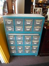 Industrial Blue Cabinet in Elgin, Illinois