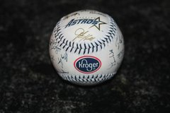 1997 HOUSTON ASTROS AUTOGRAPHED KROGER Promo BASEBALL in Kingwood, Texas