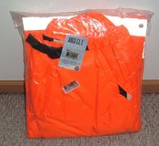 NEW w Tags Jackson Safety ANSI CL E 3M Scotchlite Reflective Hi Viz Orange Pants 2X in Plainfield, Illinois